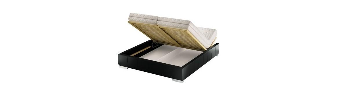 Łóżko z pojemnikiem KF